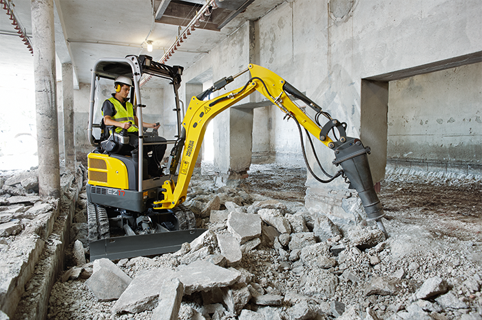 Wacker Neuson EZ 17 Mini escavatore